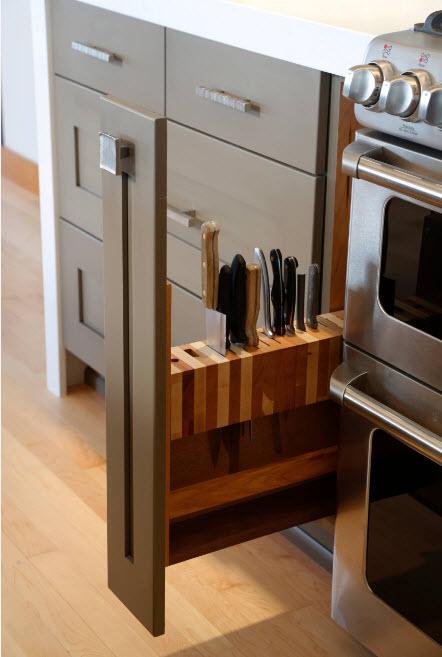 Хранение в современной кухне