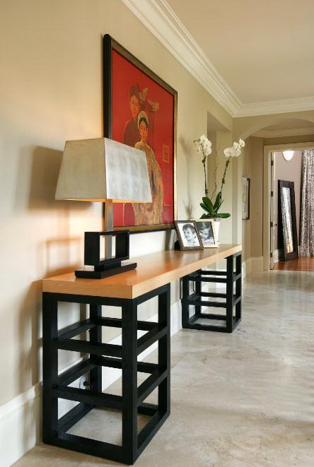 Светлый мрамор для коридора