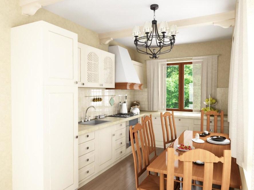 Прованс для маленькой кухни