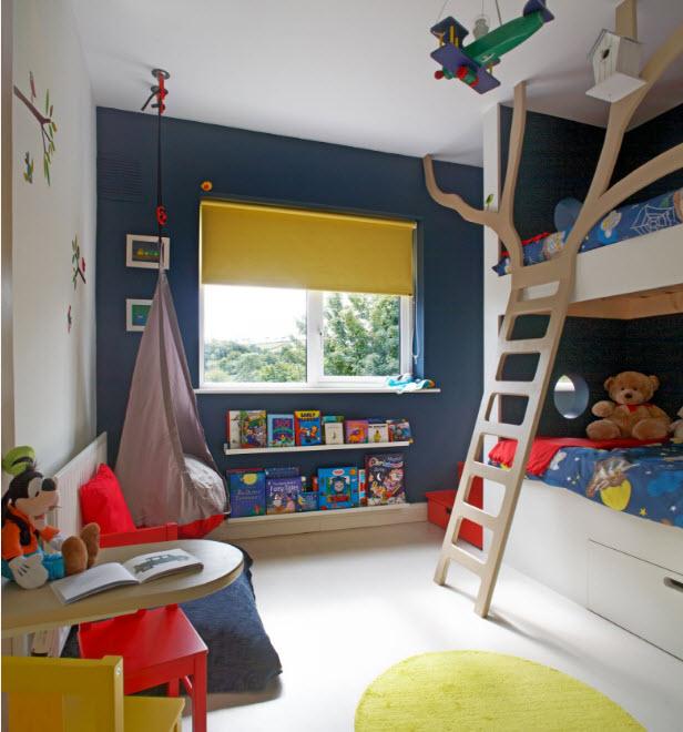 Выделение спального сектора