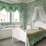 Дизайн комнаты для девочки – выбираем обои