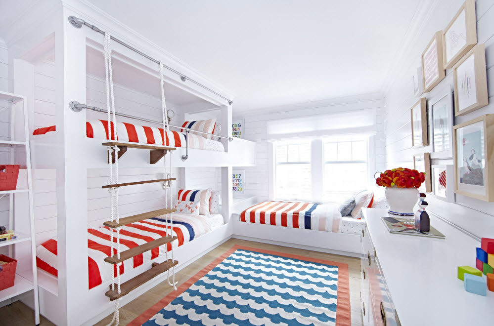 Комната в морском стиле