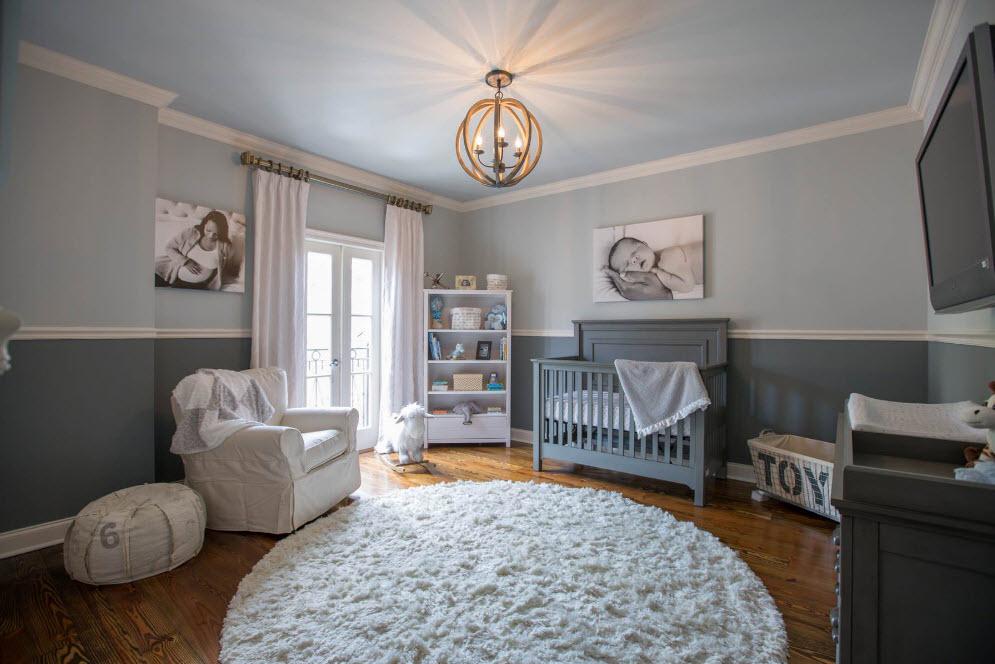 Просторное помещение для младенца