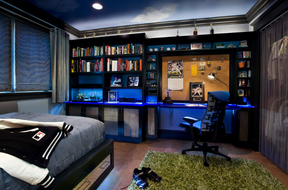 Колоритный дизайн для комнаты подростка