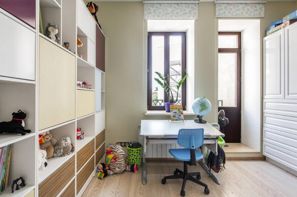 Рабочее место детской комнаты