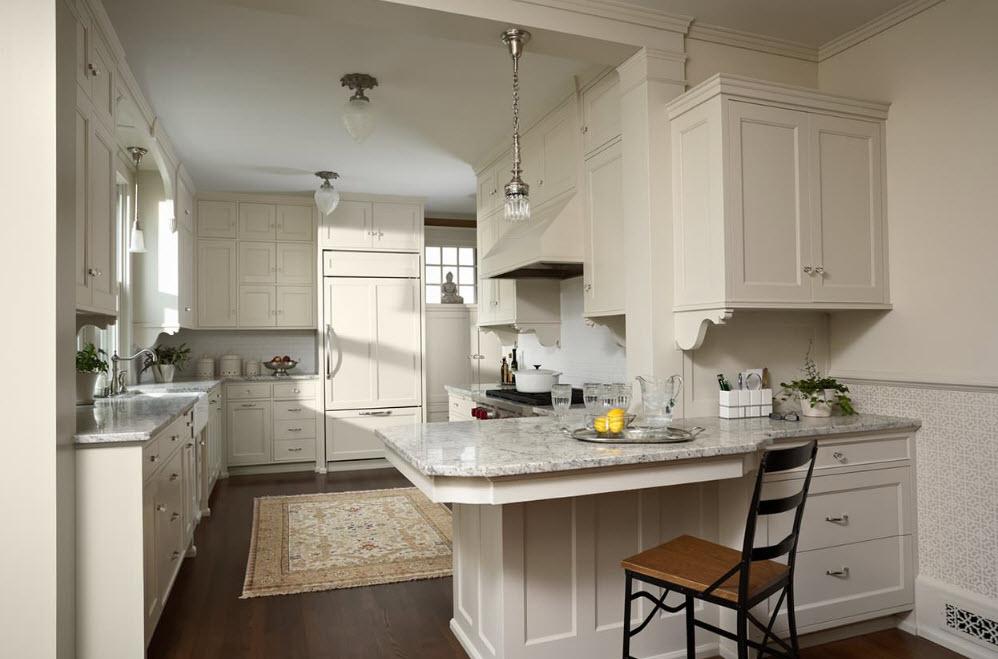Планировка <strong>дизайн кухни гостиной 100 кв</strong> с полуостровом