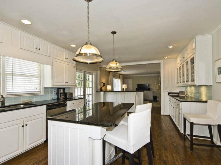 Контрасты в кухонном дизайне