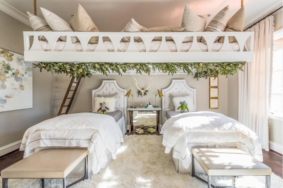 Оригинальное решение спальных мест