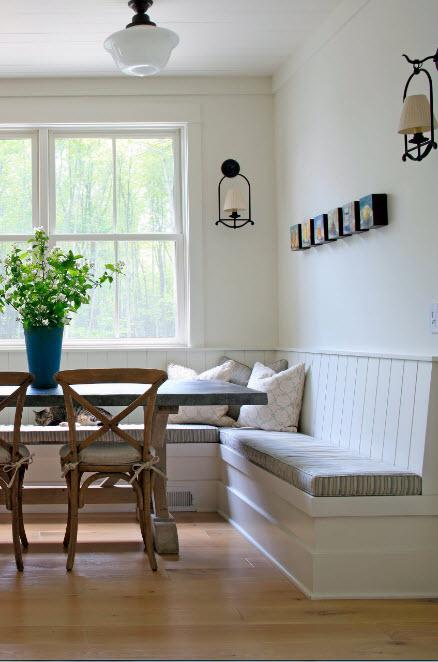 Кухонный уголок с системами хранения