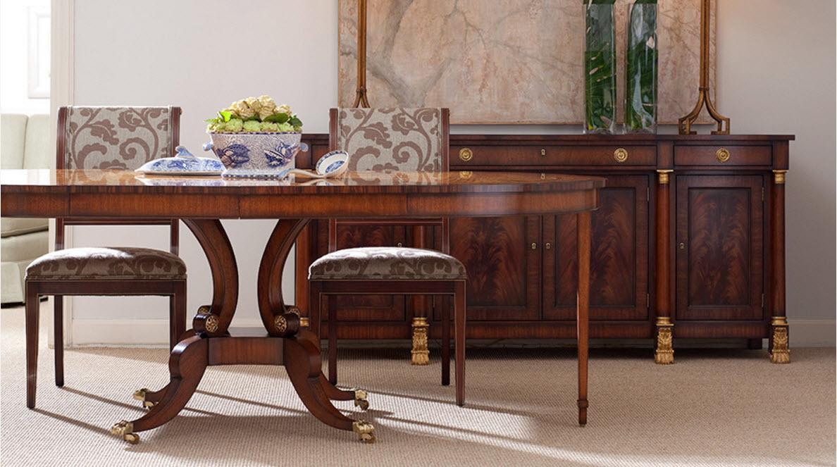 Роскошь мебели из натуральной древесины