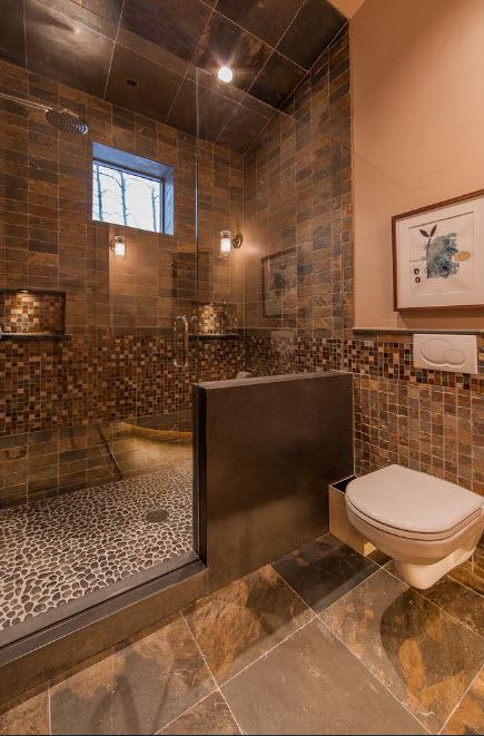 Оригинальная отделка ванной