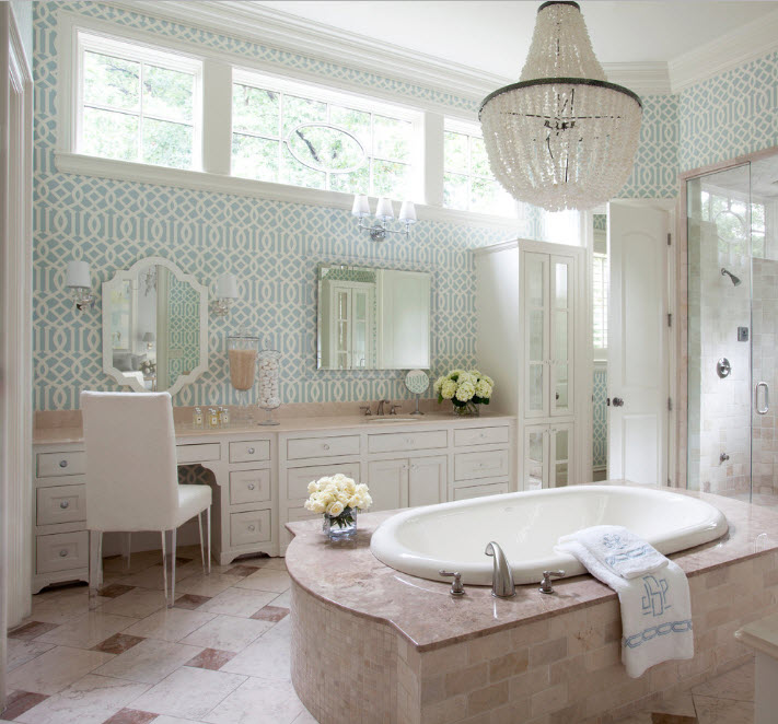 Зеркала для роскошной ванной комнаты