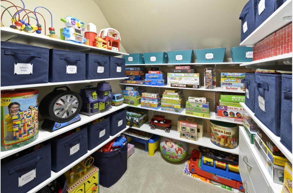 Хранение игрушек и не только