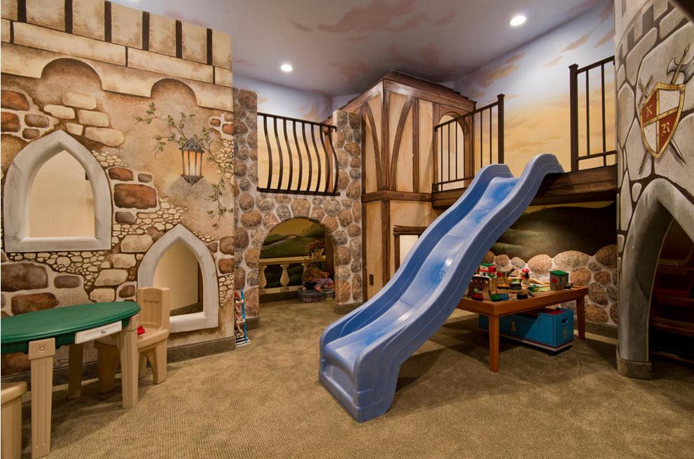 Сказочный замок в детской