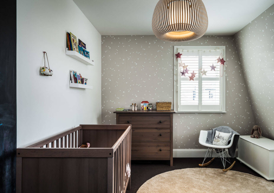 Дизайн помещения для младенцев