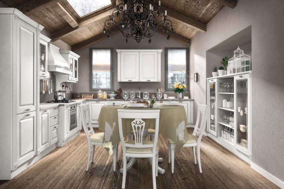 Роскошная кухня-столовая