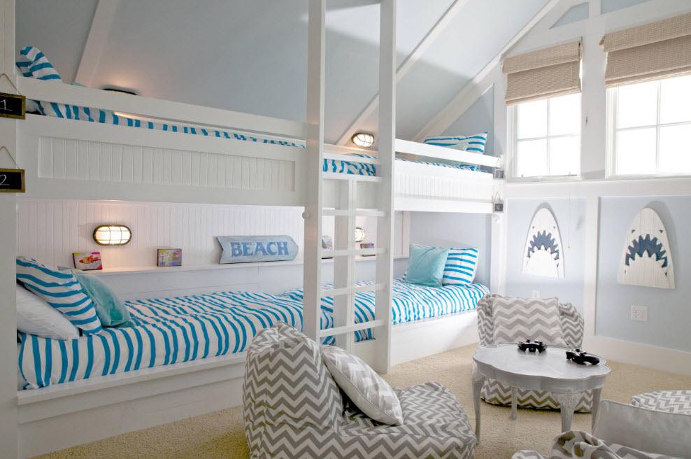 В спальне для детей