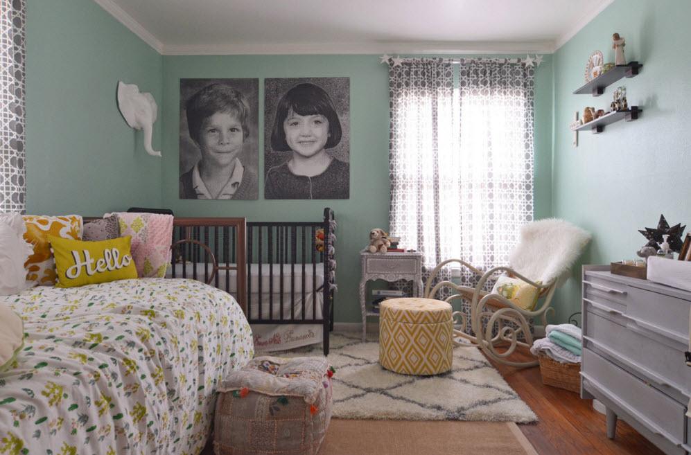 Интерьер комнаты для брата и сестры