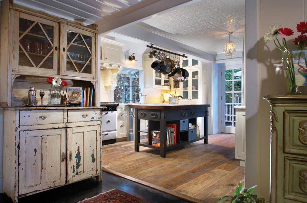 Шеббі шик для кухонних меблів