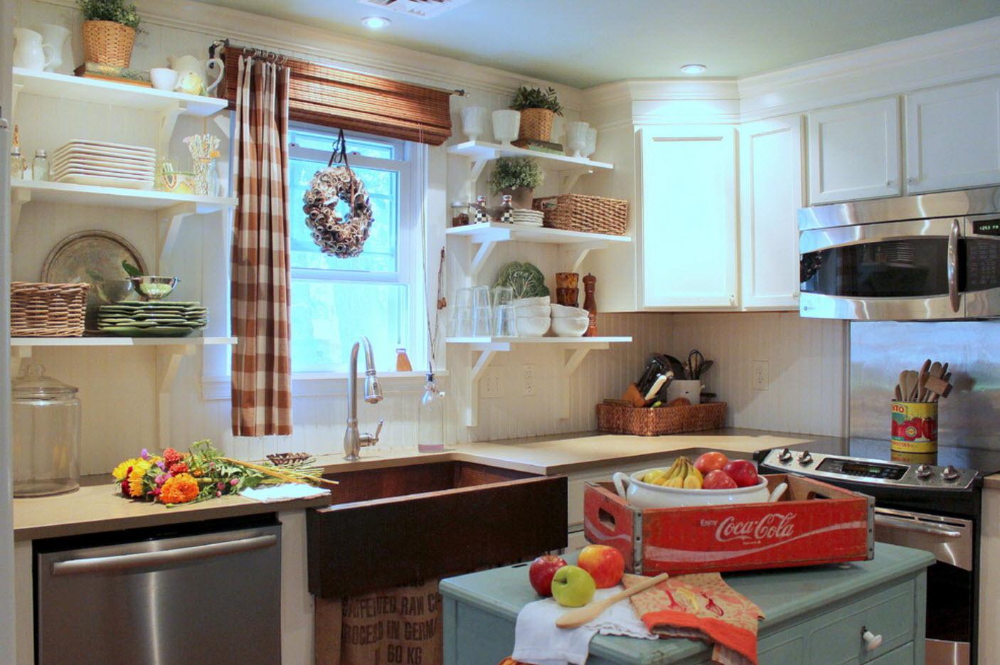 Полочки для кантри-кухни