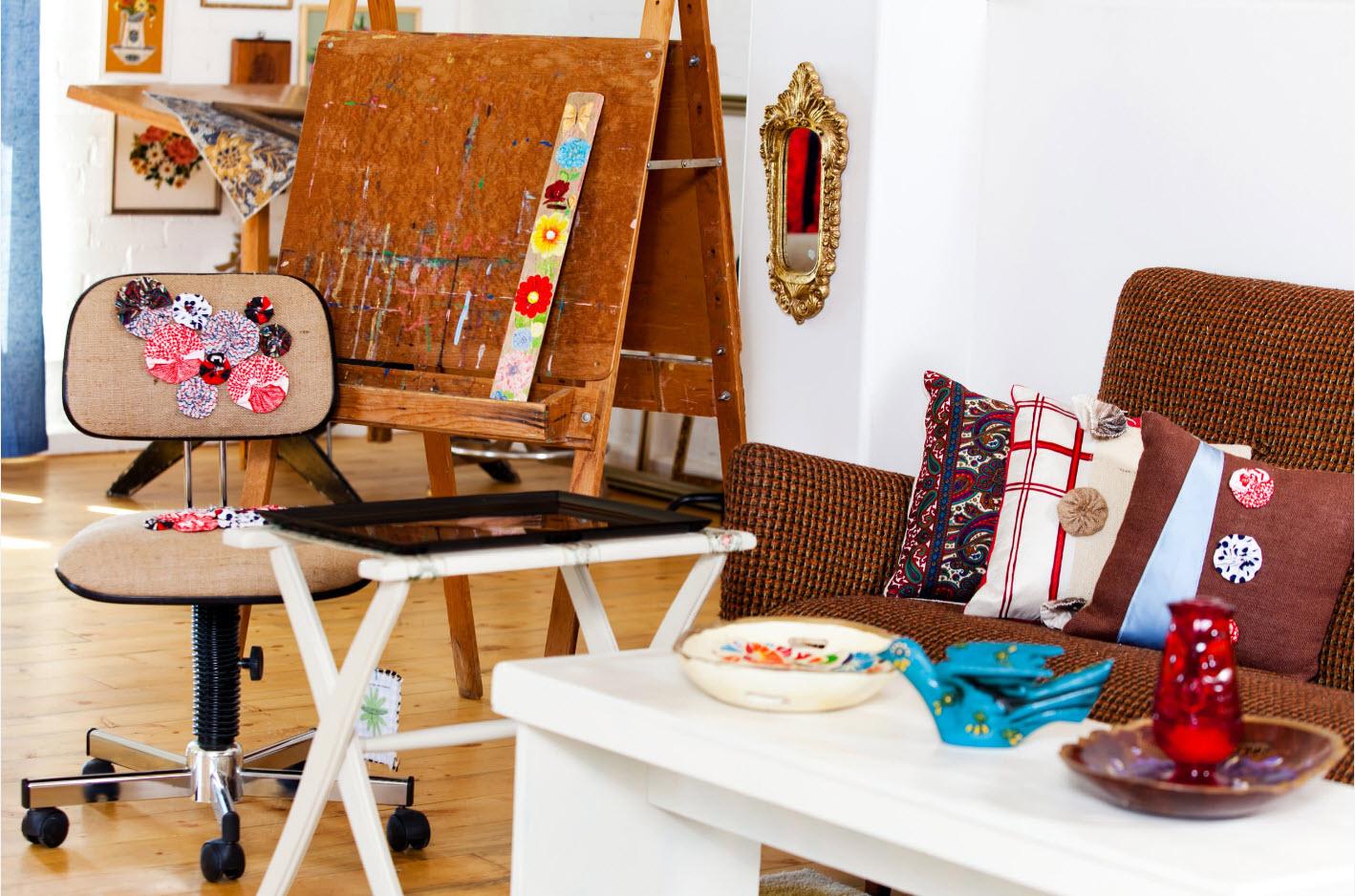 Кресло для домашней мастерской