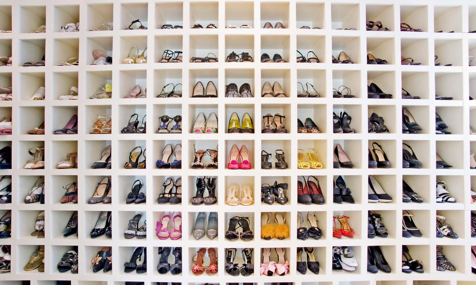 Хранение как в обувном салоне