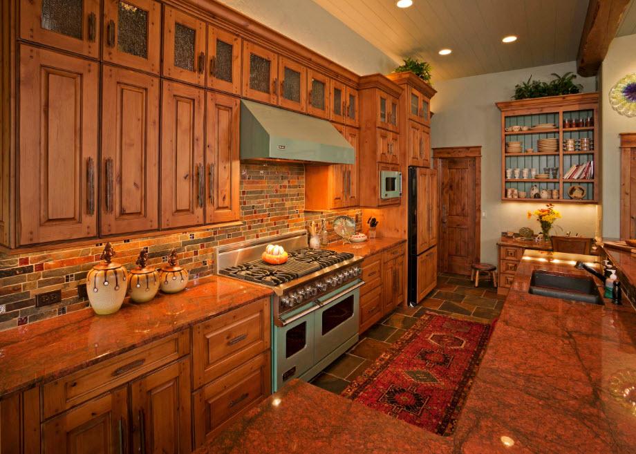 Конторка-буфет в кухне
