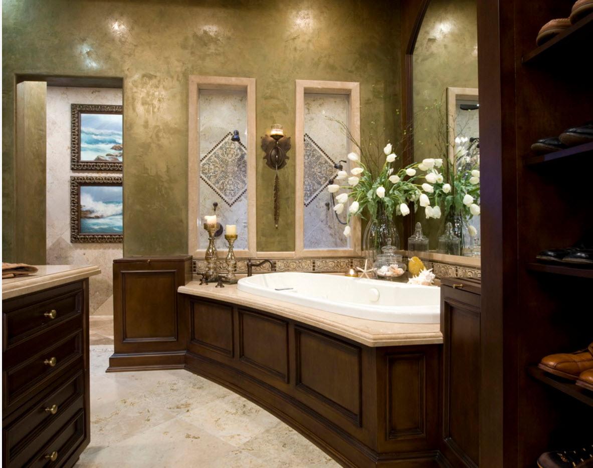 Декорирование ванной