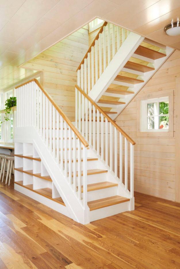 Рациональное применение места под лестницей