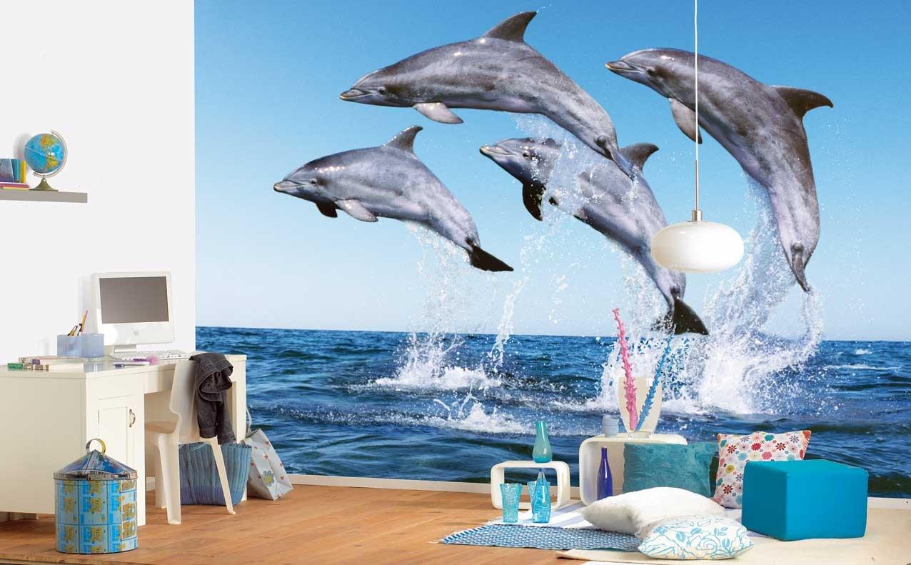 В компании с дельфинами