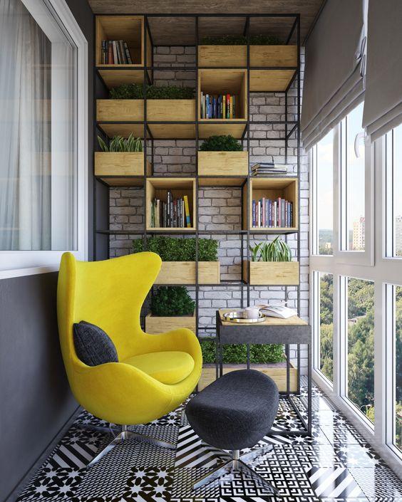 Стеллаж для балкона