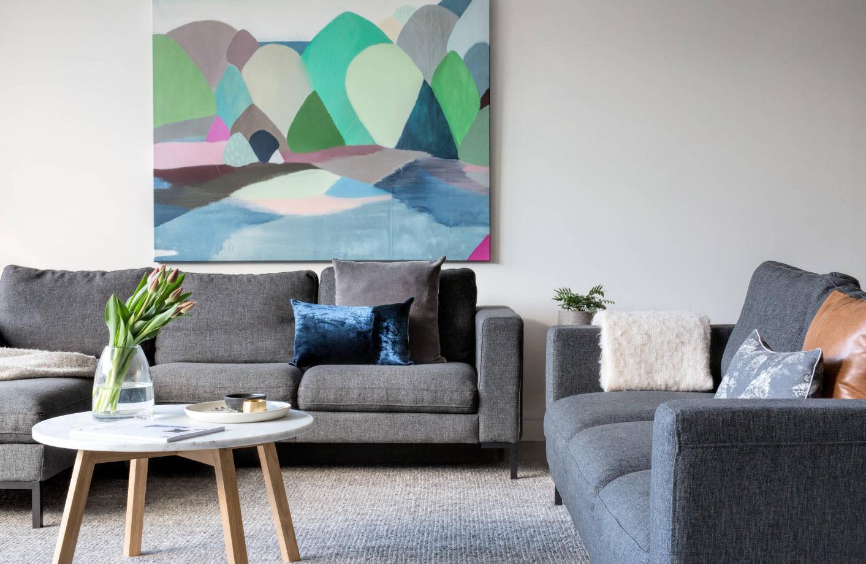 Серый цвет для обивки мебели