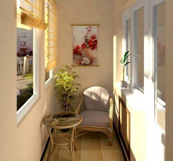 Садовая мебель для балкона