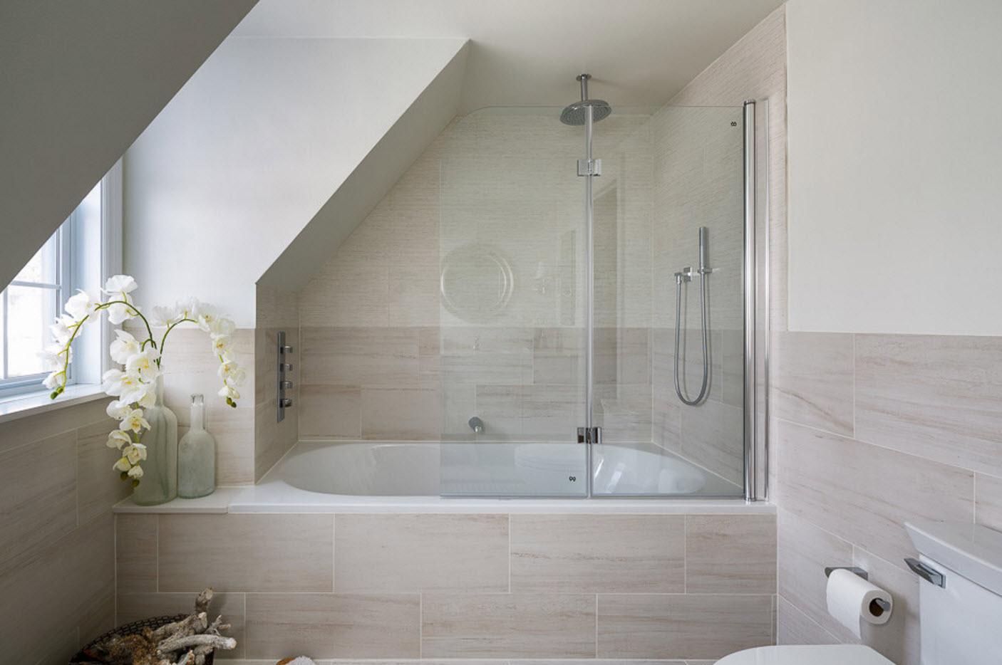 Дизайн ванной маленькой комнаты - 80 фото идей 2018 1