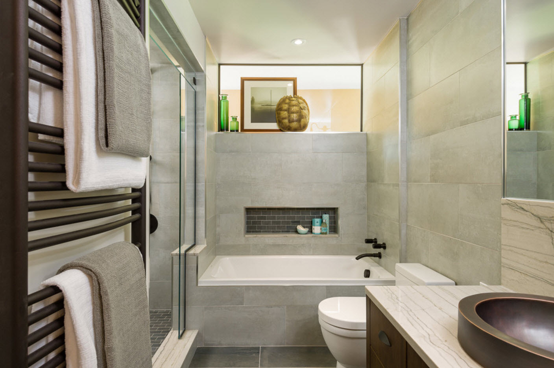 Оформление ванной комнаты небольших размеров