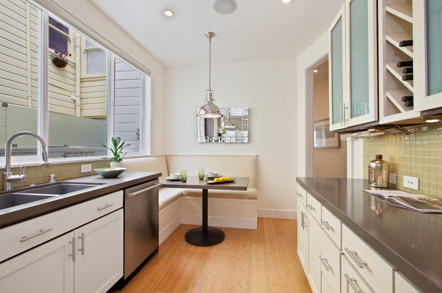 Кухня с параллельной планировкой