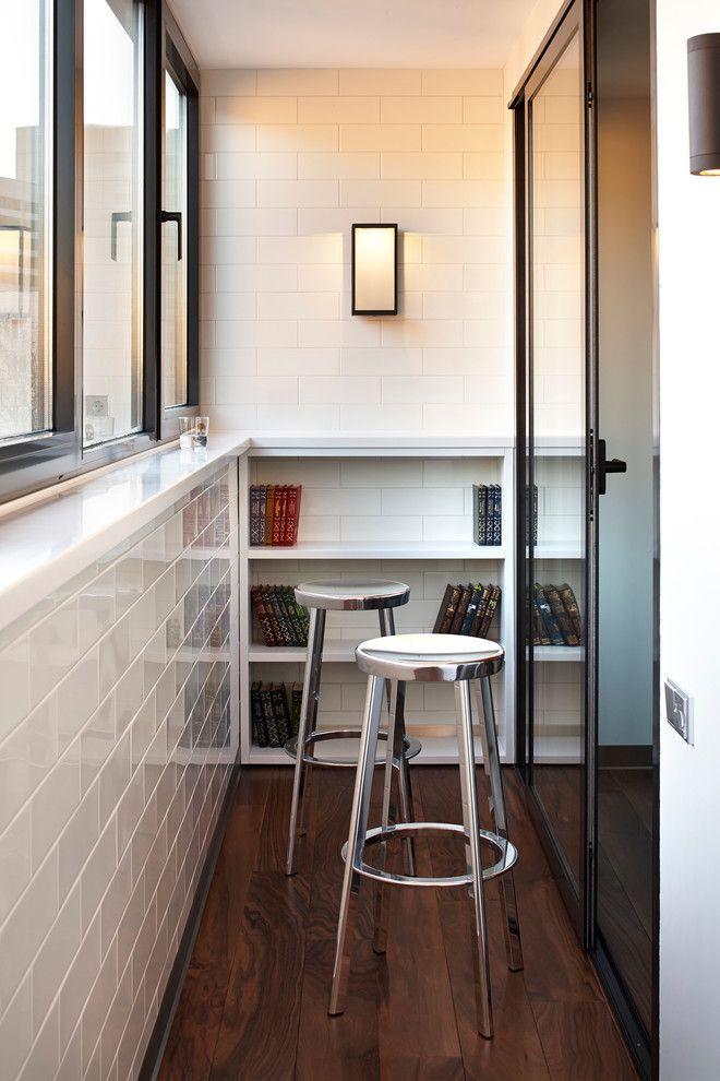 Удобный и практичный балкон