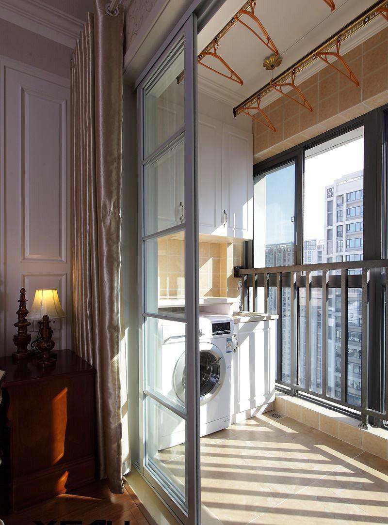 Прачечная на балконе
