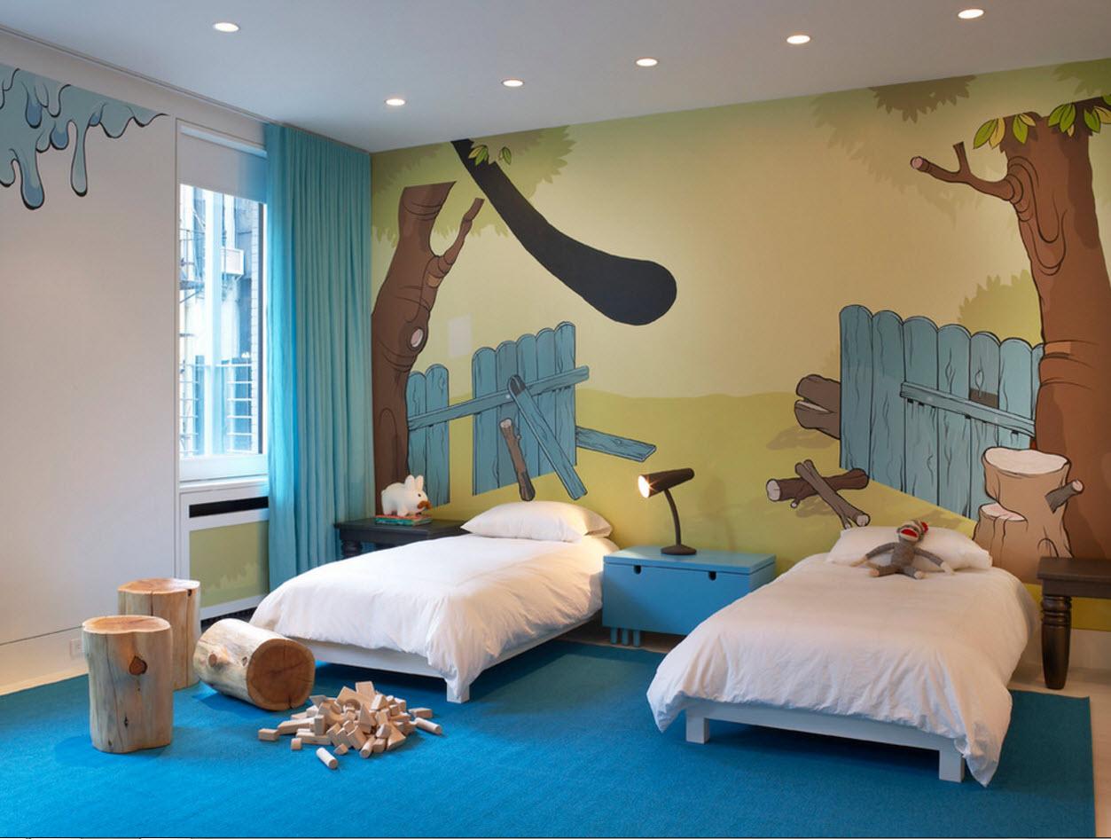Комната для двоих малышей