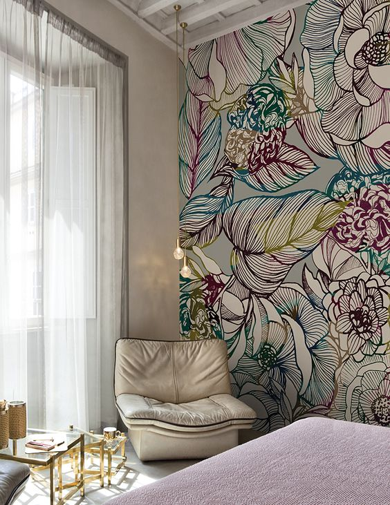 Оригинальные цветы для спальни