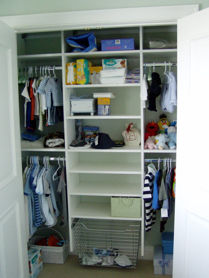 Внутреннее устройство шкафа
