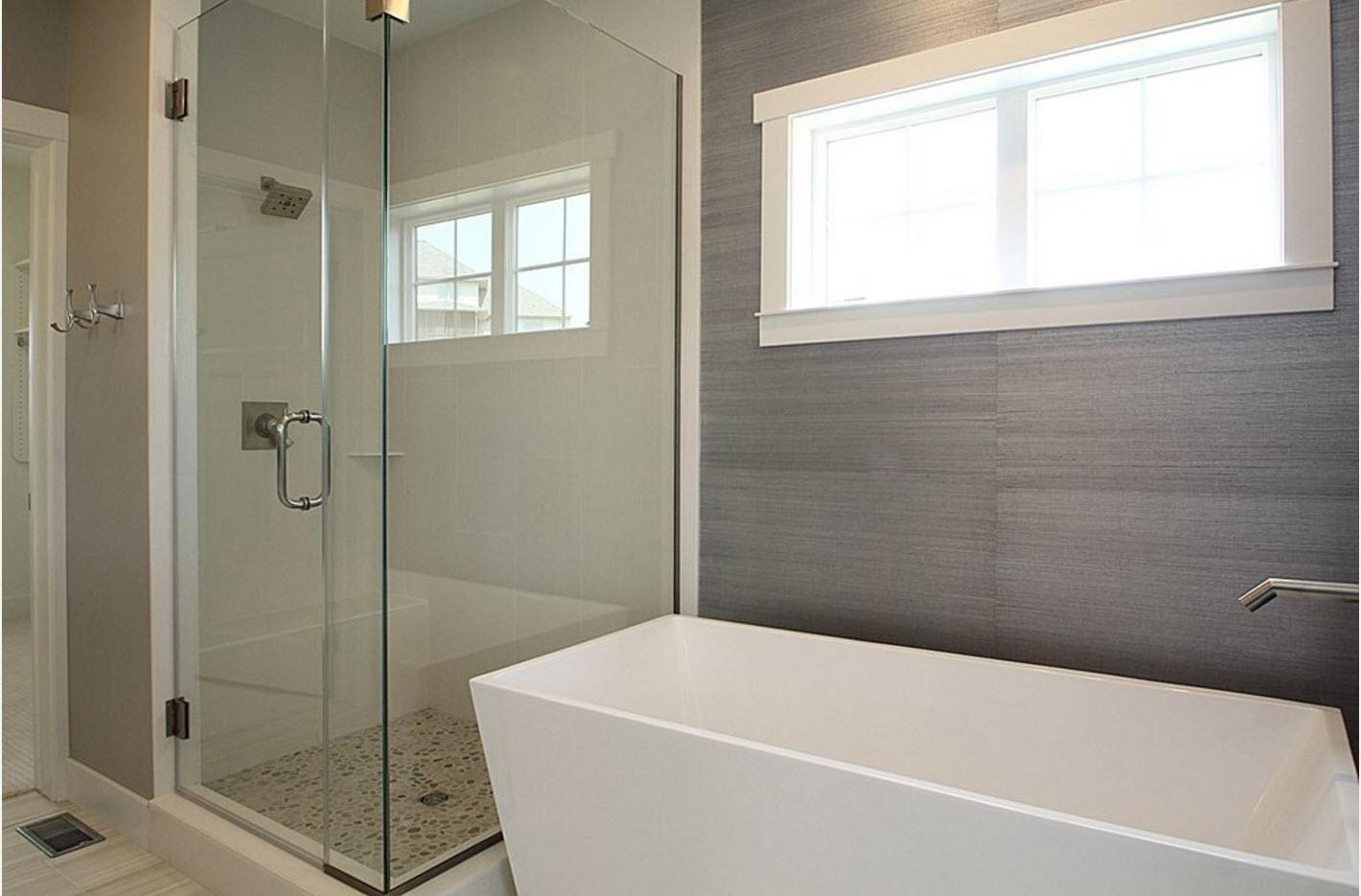 Минимализм в современной ванной