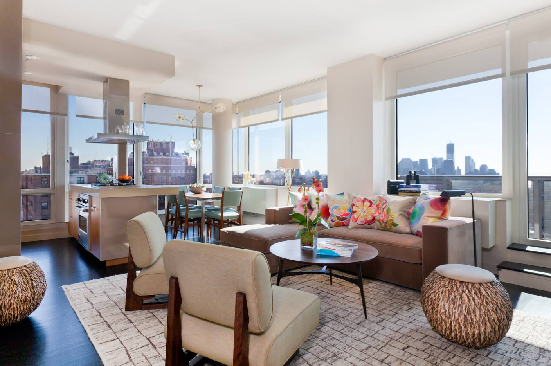 Панорамные окна для квартиры-студии