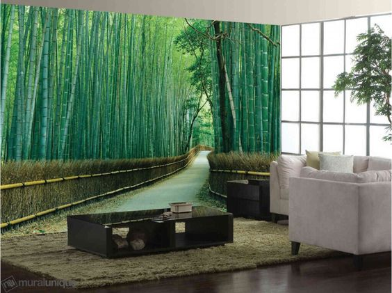 В зарослях бамбука