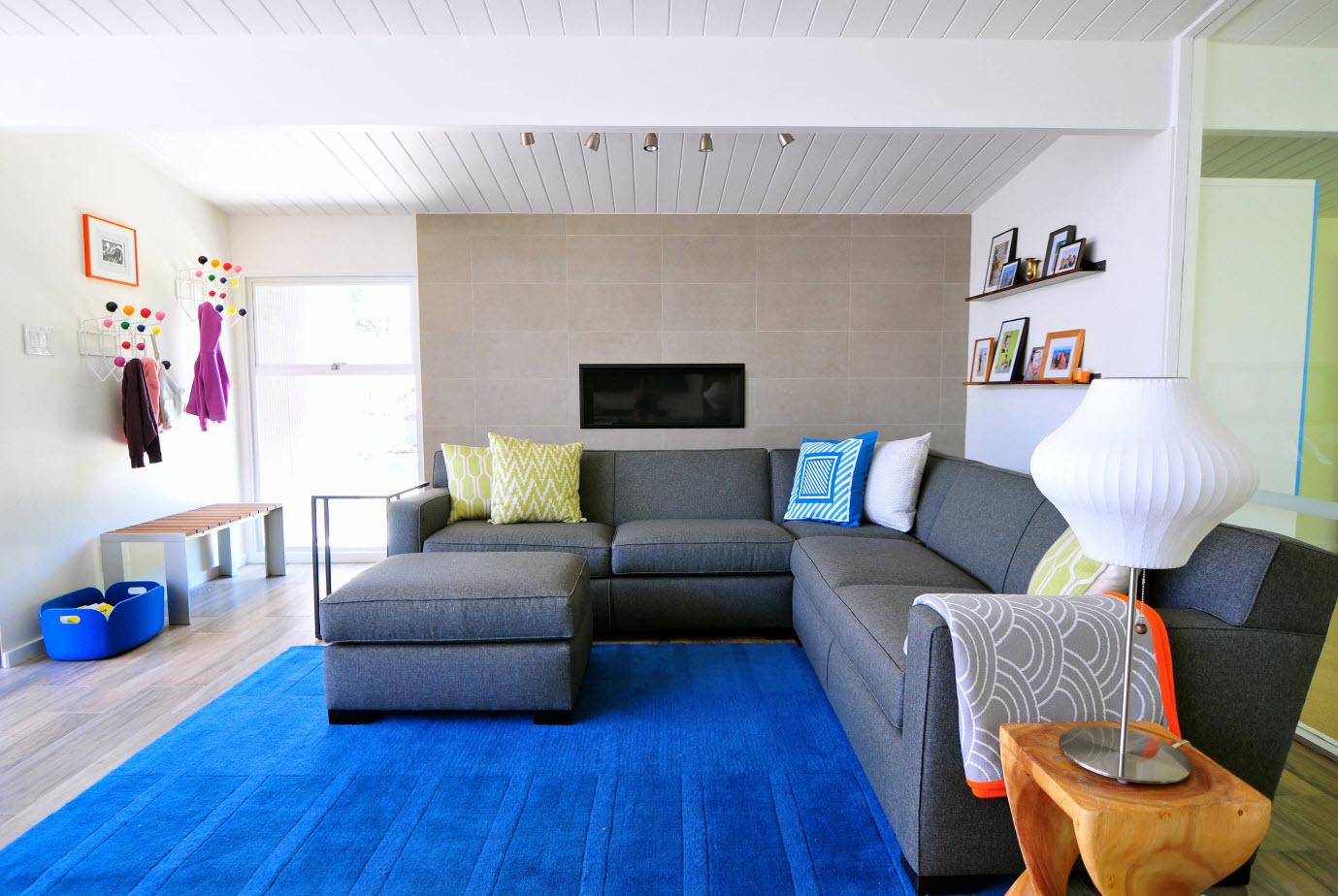 Акцент на ковровое покрытие