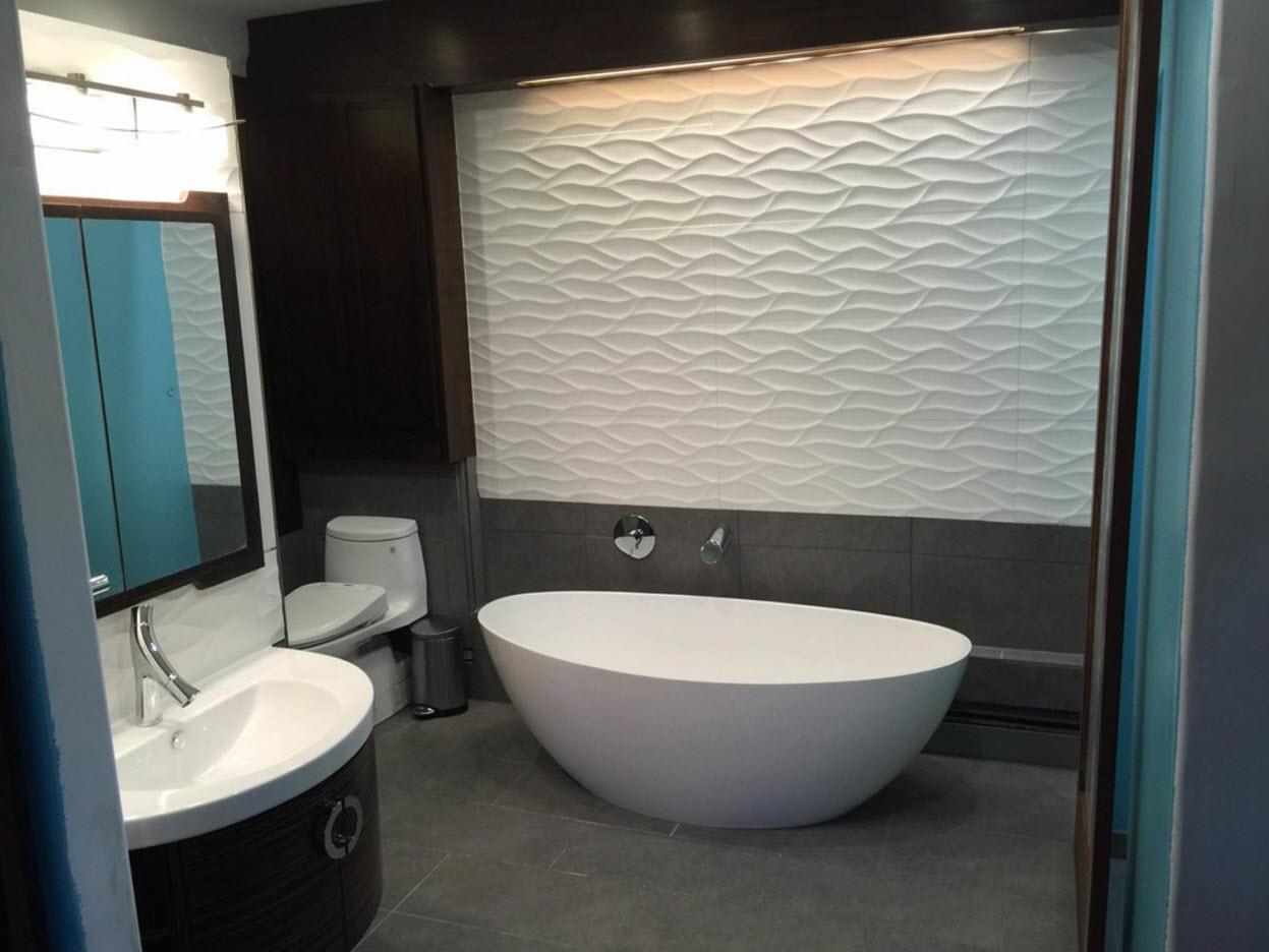 3D-панели для ванной