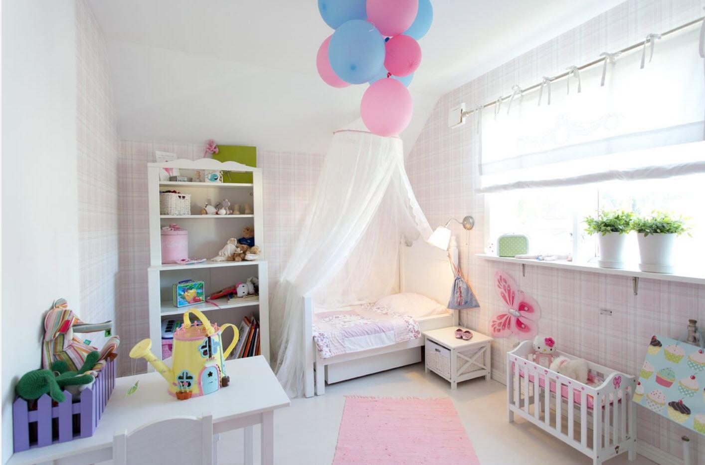 Воздушный образ комнаты для леди