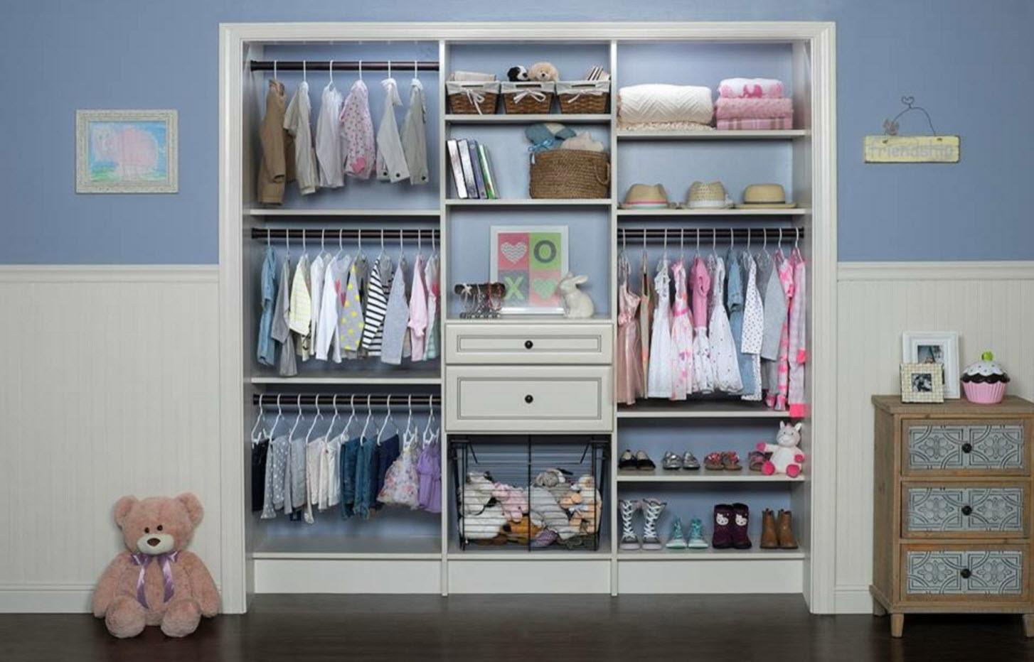 Масштабный гардероб для девочки