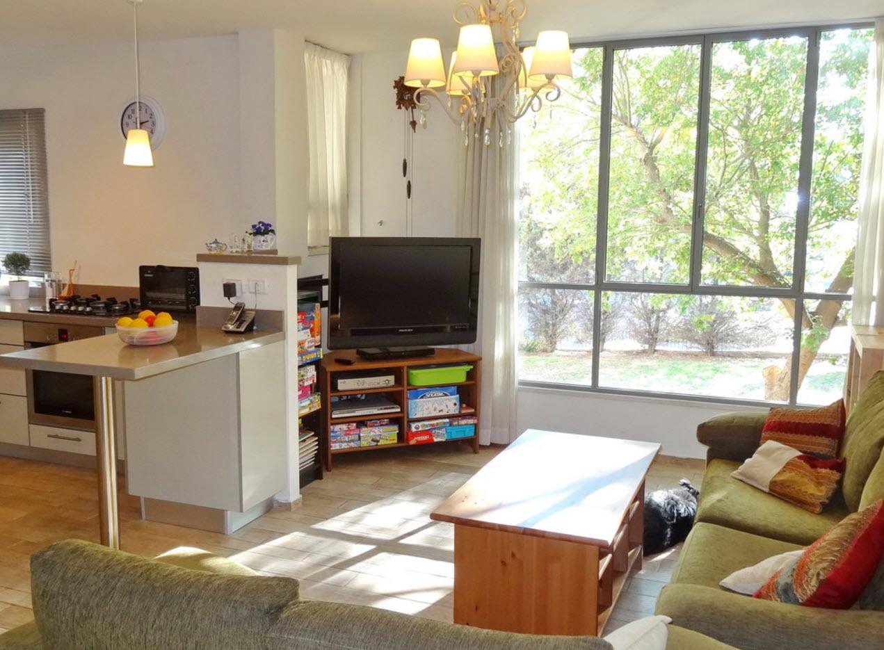 Планировка комнаты-студии