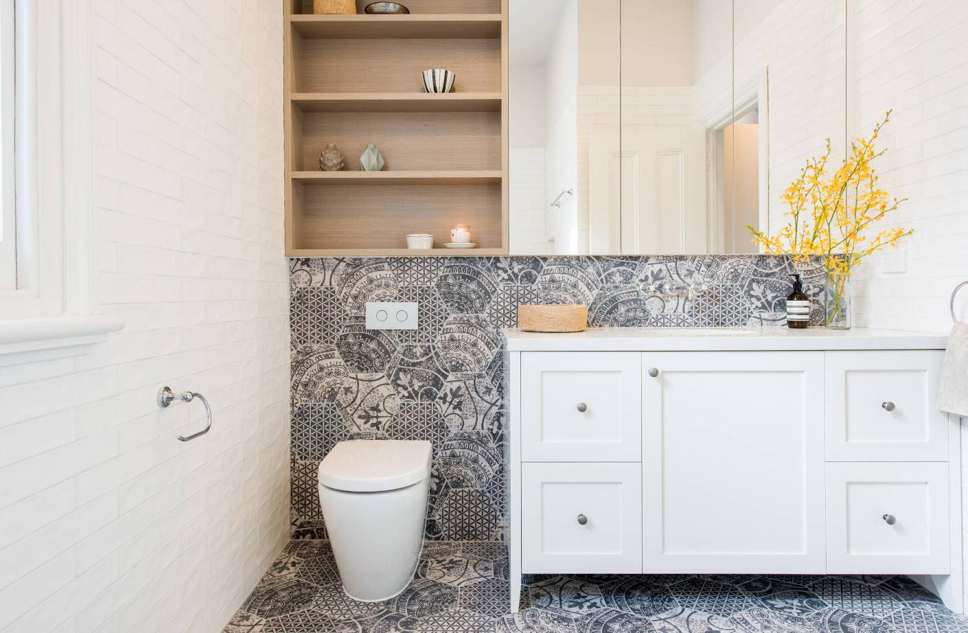 Пэчворк для ванной комнаты